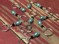 Open Butterfly Stitch Marker Set , Stitch Markers - Jill's Beaded Knit Bits, Jill's Beaded Knit Bits  - 7