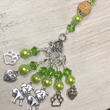 Dog Lovers Stitch Marker Set And Beaded Stitch Marker Holder , Stitch Markers - Jill's Beaded Knit Bits, Jill's Beaded Knit Bits  - 2