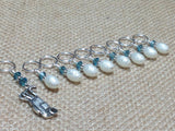 Golf Bag Stitch Marker Set , Stitch Markers - Jill's Beaded Knit Bits, Jill's Beaded Knit Bits  - 2