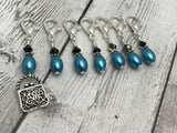 Handbag Removable Stitch Marker Set for Knitting or Crochet , Stitch Markers - Jill's Beaded Knit Bits, Jill's Beaded Knit Bits  - 4