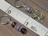 Happy Cat Stitch Marker Set , Stitch Markers - Jill's Beaded Knit Bits, Jill's Beaded Knit Bits  - 7