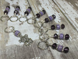Happy Cat Stitch Marker Set , Stitch Markers - Jill's Beaded Knit Bits, Jill's Beaded Knit Bits  - 3