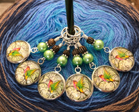 Hummingbird Stitch Markers for Knitting