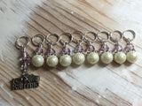 I Love Knitting Stitch Marker Set , Stitch Markers - Jill's Beaded Knit Bits, Jill's Beaded Knit Bits  - 3