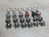 Pot Belly Cat Stitch Markers , Stitch Markers - Jill's Beaded Knit Bits, Jill's Beaded Knit Bits  - 6