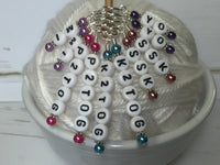 Increase & Decrease Stitch Marker Set , Stitch Markers - Jill's Beaded Knit Bits, Jill's Beaded Knit Bits  - 7