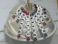 Increase & Decrease Stitch Marker Set , Stitch Markers - Jill's Beaded Knit Bits, Jill's Beaded Knit Bits  - 8