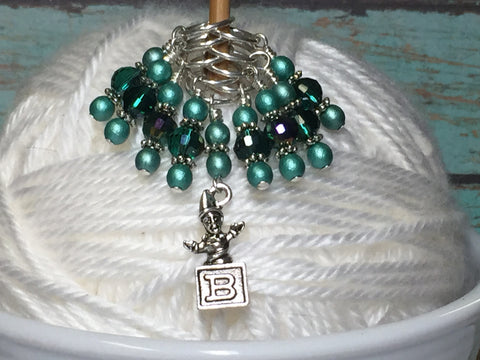 Jack in the Box Stitch Marker Set , Stitch Markers - Jill's Beaded Knit Bits, Jill's Beaded Knit Bits  - 7