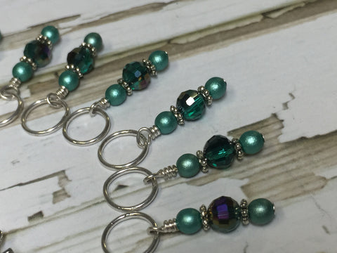 Jack in the Box Stitch Marker Set , Stitch Markers - Jill's Beaded Knit Bits, Jill's Beaded Knit Bits  - 4