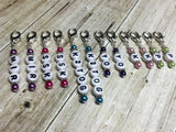 Knitting Instructions Stitch Marker Set- Pattern Helpers , Stitch Markers - Jill's Beaded Knit Bits, Jill's Beaded Knit Bits  - 4