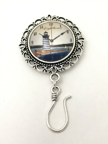 Lighthouse Magnetic Knitting Pin for Portuguese Knitting