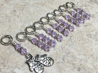 Knitted Mittens Beaded Stitch Marker Set , Stitch Markers - Jill's Beaded Knit Bits, Jill's Beaded Knit Bits  - 1