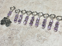 Knitted Mittens Beaded Stitch Marker Set , Stitch Markers - Jill's Beaded Knit Bits, Jill's Beaded Knit Bits  - 4