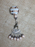Peaches & Cream Stitch Marker Set , Stitch Markers - Jill's Beaded Knit Bits, Jill's Beaded Knit Bits  - 3
