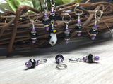 Penguin Stitch Marker Set- Snag Free Gift for Knitters , Stitch Markers - Jill's Beaded Knit Bits, Jill's Beaded Knit Bits  - 5