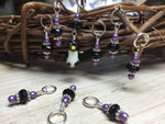 Penguin Stitch Marker Set- Snag Free Gift for Knitters , Stitch Markers - Jill's Beaded Knit Bits, Jill's Beaded Knit Bits  - 3