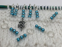 RN Charm Stitch Marker Set for Knitting , Stitch Markers - Jill's Beaded Knit Bits, Jill's Beaded Knit Bits  - 7
