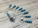 RN Charm Stitch Marker Set for Knitting , Stitch Markers - Jill's Beaded Knit Bits, Jill's Beaded Knit Bits  - 4