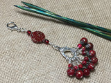 Speckled Knitting Bag Lanyard for Stitch Markers , Stitch Markers - Jill's Beaded Knit Bits, Jill's Beaded Knit Bits  - 2