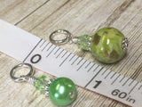 Shades of Green Stitch Marker Set , Stitch Markers - Jill's Beaded Knit Bits, Jill's Beaded Knit Bits  - 9