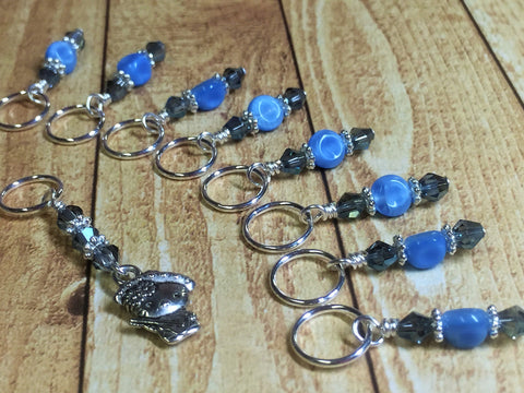 Sombrero Kitty Stitch Marker Set , Stitch Markers - Jill's Beaded Knit Bits, Jill's Beaded Knit Bits  - 5
