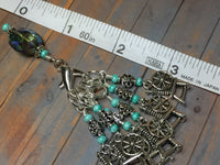 Spinning Wheel Stitch Markers & Holder Set , Stitch Markers - Jill's Beaded Knit Bits, Jill's Beaded Knit Bits  - 3