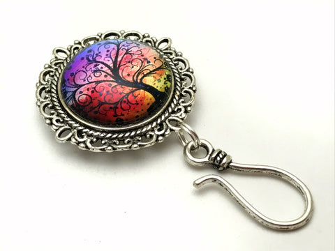Sunset Tree Portuguese Knitting Pin - Magnetic