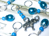 Elephant Stitch Marker Set - Gifts for Knitters