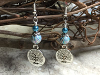 Tree of Life Earrings , jewelry - Jill's Beaded Knit Bits, Jill's Beaded Knit Bits  - 5