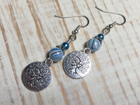 Tree of Life Earrings , jewelry - Jill's Beaded Knit Bits, Jill's Beaded Knit Bits  - 4