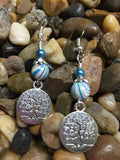 Tree of Life Earrings , jewelry - Jill's Beaded Knit Bits, Jill's Beaded Knit Bits  - 6