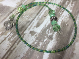 Turtle Beaded Bookmark in Green , accessories - Jill's Beaded Knit Bits, Jill's Beaded Knit Bits  - 4