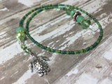 Turtle Beaded Bookmark in Green , accessories - Jill's Beaded Knit Bits, Jill's Beaded Knit Bits  - 5