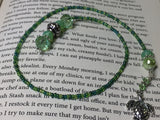 Turtle Beaded Bookmark in Green , accessories - Jill's Beaded Knit Bits, Jill's Beaded Knit Bits  - 3