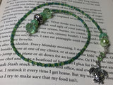 Turtle Beaded Bookmark in Green , accessories - Jill's Beaded Knit Bits, Jill's Beaded Knit Bits  - 6