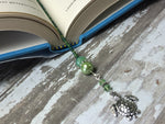 Turtle Beaded Bookmark in Green , accessories - Jill's Beaded Knit Bits, Jill's Beaded Knit Bits  - 2