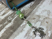 Turtle Beaded Bookmark in Green , accessories - Jill's Beaded Knit Bits, Jill's Beaded Knit Bits  - 7