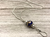Flowers Portuguese Knitting Necklace |  Sterling Silver Filled Chain with Anti-Tarnish Coating