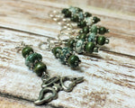 Snag Free Angel Wing Stitch Marker Set- Green 9 Pieces , Stitch Markers - Jill's Beaded Knit Bits, Jill's Beaded Knit Bits  - 7