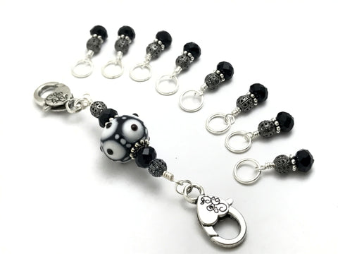 Snag Free Stitch Markers & Lanyard Holder