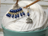 Boombox Stitch Marker Set For Knitting , Stitch Markers - Jill's Beaded Knit Bits, Jill's Beaded Knit Bits  - 3