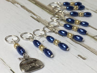 Boombox Stitch Marker Set For Knitting , Stitch Markers - Jill's Beaded Knit Bits, Jill's Beaded Knit Bits  - 5