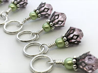 Cotton Candy & Pistachio Stitch Marker Set