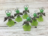 Angel Stitch Marker set- Snag Free Beaded Knitting Stitch Markers- Gift for Knitters- Tools ,  - Jill's Beaded Knit Bits, Jill's Beaded Knit Bits  - 2