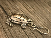 Silver Turtle Magnetic Portuguese Knitting Pin