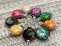 Bright Colors Wire Loop Knitting Stitch Marker Set