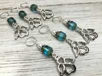 Angel Stitch Markers for Knitting or Crochet, Choose Rings or Clasps