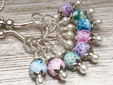 Seashell Stitch Marker Necklace | Gifts for Knitters | Snag Free Markers | FREE US SHIPPING