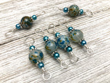 Double Duty Stitch Marker Set for Knitting, 2 Sizes in 1 Stitch Marker