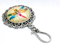 Magnetic Dragonfly Portuguese Knitting Pin